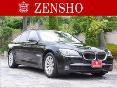 BMW740i プラスパッケージ 黒革 SR イージークローズ