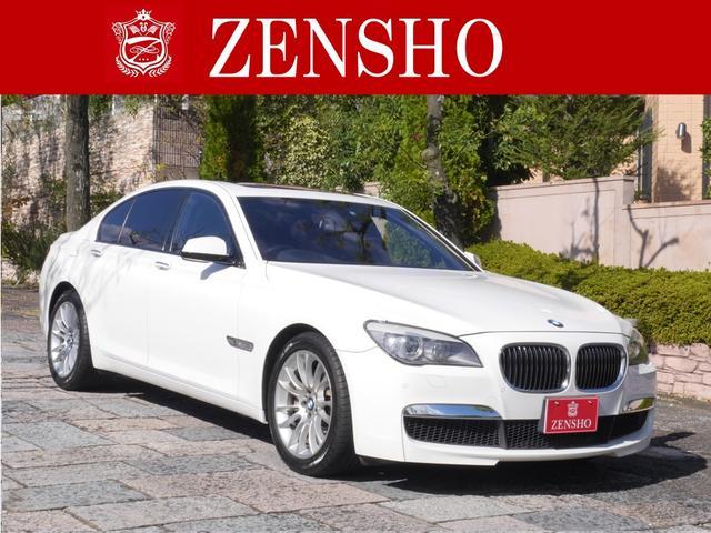 BMW 7シリーズ 750i Mスポーツパッケージ 黒革 サンルー...
