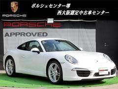 ポルシェ911カレラ 新車保証継承 エントリードライブ SPステア