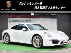 ポルシェ認定中古車保証1年付911カレラ4S SPクロノ 電格ミラー