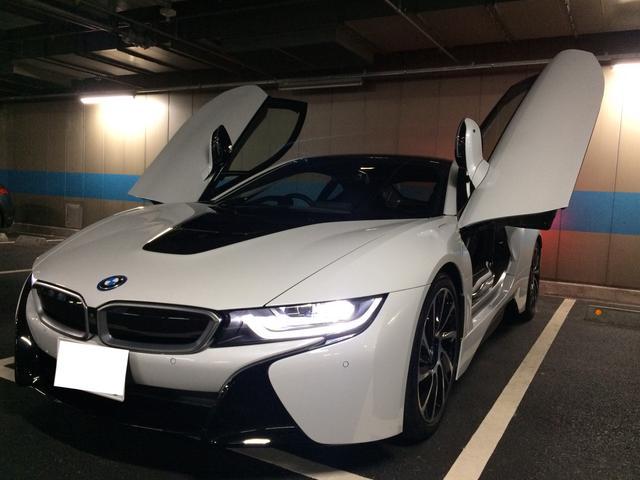 BMW i8 ベースグレード 禁煙 OPアルミ OPカラー (検3...