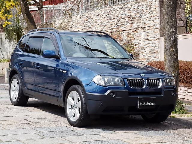 BMW X3 2.5i 地デジフルセグTV 禁煙 ワンオーナー (...