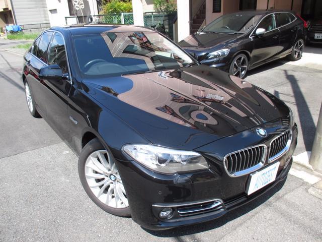 BMW 5シリーズ 523d ラグジュアリー レザー ワンオーナー...