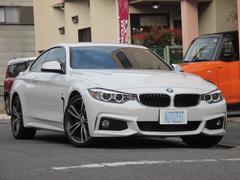 BMW420iクーペ Mスポーツ 衝突軽減ブレーキ