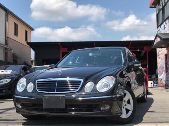メルセデス・ベンツ E280 アバンギャルドスポーツED 黒革 純正ナビ・AW