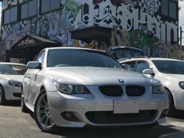 BMW 525i Mスポーツパッケージ ハーフ革 ナビ