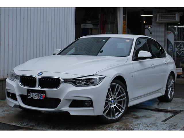 BMW 318i Mスポーツ LCI 黒革 LEDヘッド 19AW