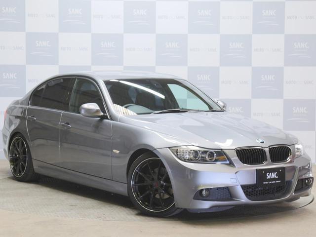 BMW 320iSE Mスポーツ禁煙 RAYS18AWナビTV車高調