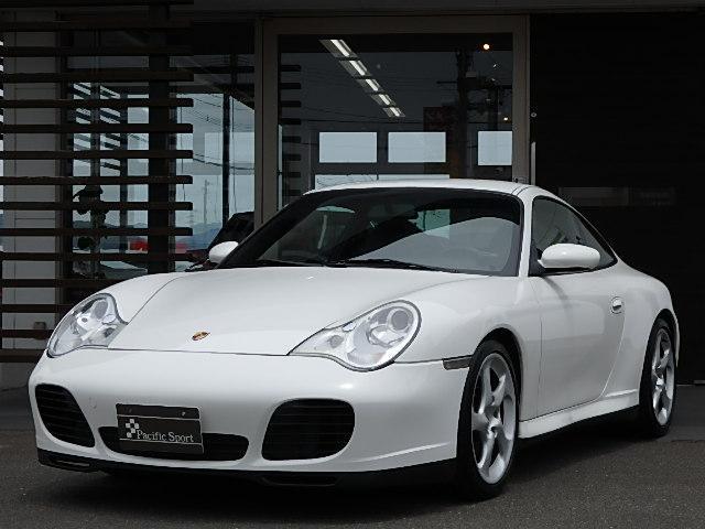 ポルシェ 911カレラ4S 4WD 正規ディーラー車 黒革シート