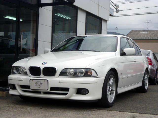 BMW 525i Mスポーツ 純正ナビ