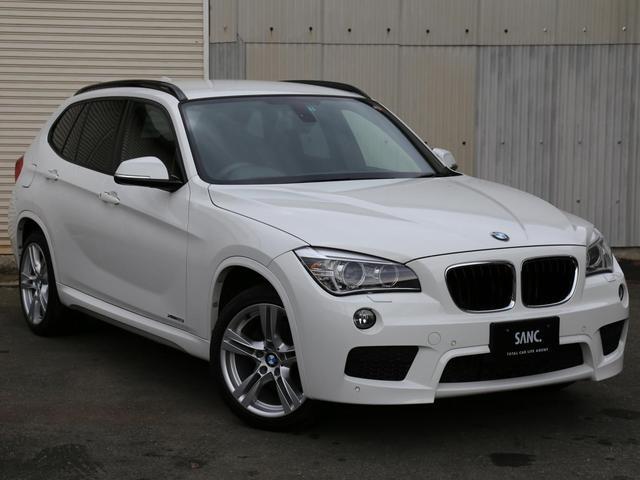 BMW X1 Mスポ 1オナ 禁煙 HDDナビBカメ ETC Pサ...