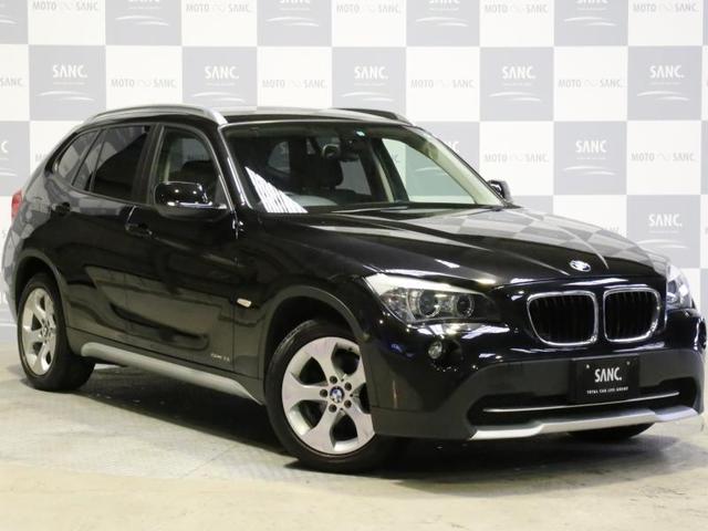 BMW X1 sDrive18i 禁煙ワンオーナー 黒革シート 地...