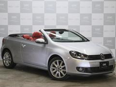 VW ゴルフカブリオレ1オナ 赤革 キセノン フルセグTVナビ ETC