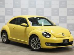VW ザ・ビートルデザインレザーPkg 1オナ 禁煙 黒革 純正フルセグナビ
