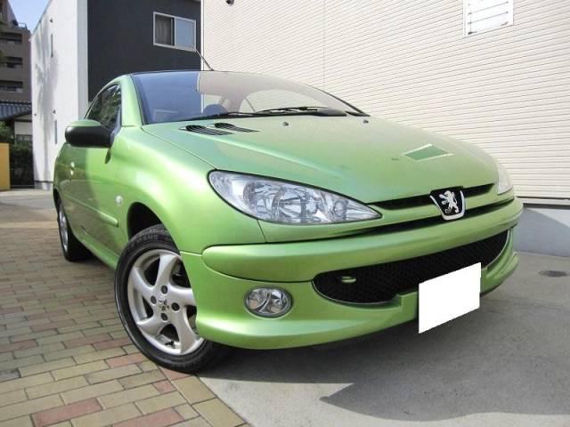 peugeot 206 cc green. PEUGEOT 206 CC
