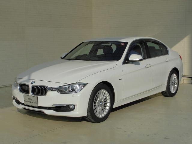 BMW 3シリーズ 320iラグジュアリー全国1年保証付黒革スマー...