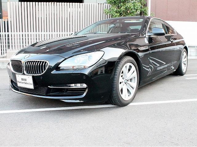 BMW 640iクーペ黒革 18AW ソフトクローズドア