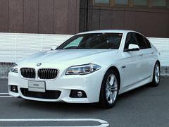 BMW523i Mスポーツ LEDライト 黒革 ACC 18AW
