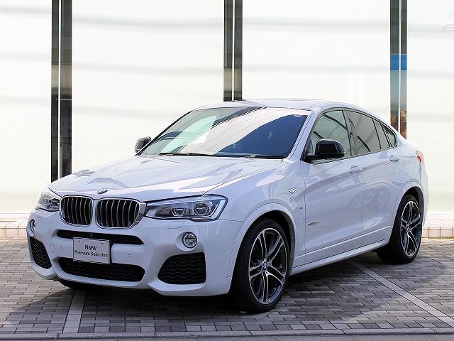BMW X4 xDrive 35i Mスポーツ サンルーフ 黒革 ...