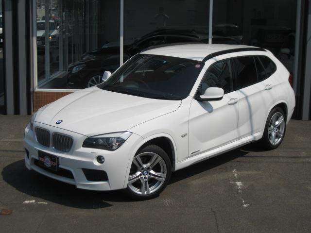 BMW X1 xDrive 20i Mスポーツ 社外HDDナビ B...
