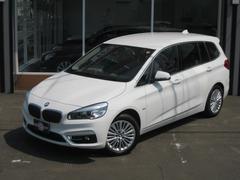 BMW218d xDriveグランツアラー ラグジュアリー 登録未