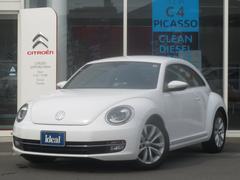 VW ザ・ビートルデザインレザーパッケージ 黒革 キセノン ETC クルコン