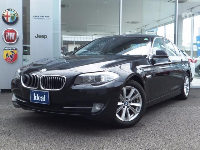 BMW 5シリーズ 523i ハイラインパッケージ 黒革 HDDナ...