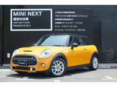 MINIクーパーS 正規ディ−ラー認定中古車