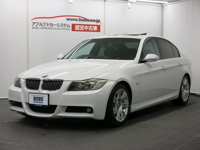 BMW 3シリーズ 325iMスポーツPKG 純正ナビ ガラスSR...