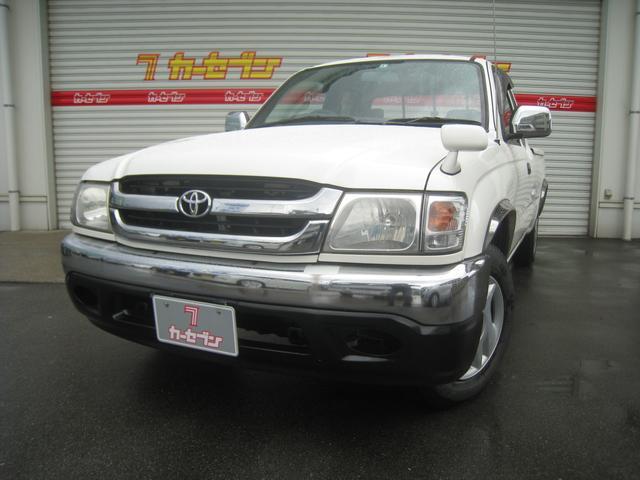 トヨタ エクストラキャブ サンルーフ HIDヘッドライト CD