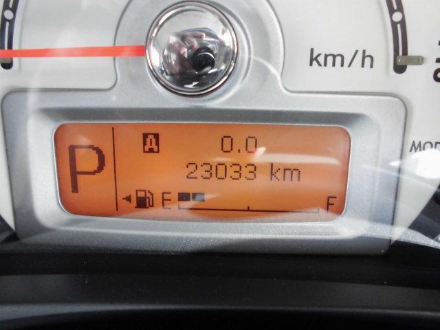 走行少ない23033キロ!