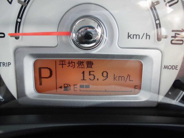 ここの表示は、平均燃費などなど変更できます!