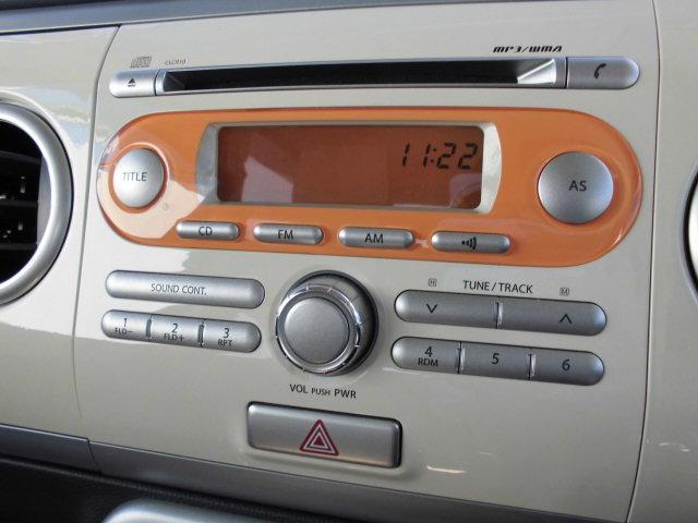 統一感があってかわいくておしゃれな、ラジオ付純正CDデッキ!