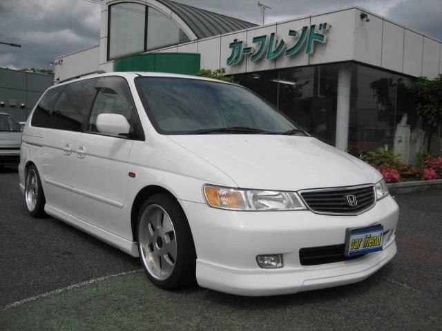 Honda lagreat exclusive 2001 white 46 000 km for Honda odyssey service codes