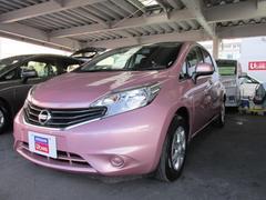 沖縄の中古車 日産 ノート 車両価格 94万円 リ済別 平成26年 4.2万K ナデシコピンクPM