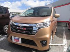沖縄の中古車 日産 デイズ 車両価格 88万円 リ済別 平成26年 4.0万K ピンクゴールドM