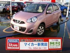 新潟県の中古車ならマーチ X Vセレクション