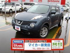 新潟の中古車 日産 ジューク 車両価格 151.2万円 リ済別 平成23年 5.2万K スチールブルーM