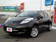 リーフ X (24kWh) EV専用ナビ バックビューモニター(日産)