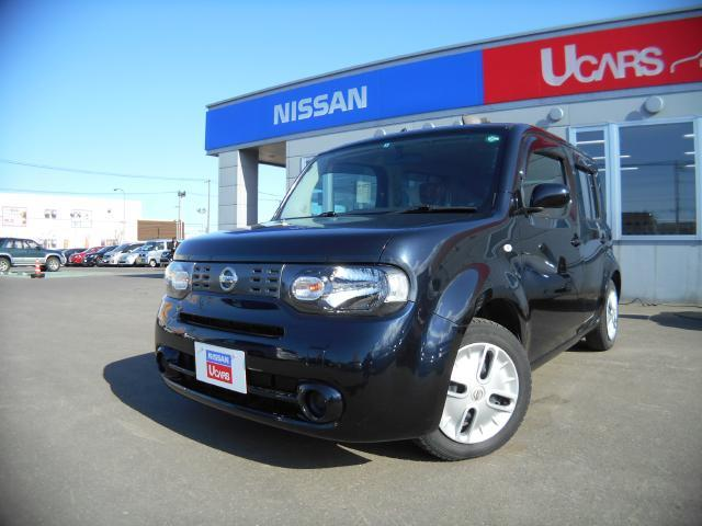 Photo of NISSAN CUBE 15X FOUR PARTY RED SELECTION / used NISSAN