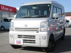 NV100クリッパーバンGXターボ HR 4WD ワンオ−ナ−車 エマ−ジェンシ−B