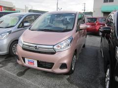 沖縄の中古車 日産 デイズ 車両価格 117万円 リ済別 平成27年 0.5万K シルキーローズM