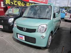 沖縄の中古車 日産 モコ 車両価格 98万円 リ済別 平成26年 2.6万K ホォレストアクア