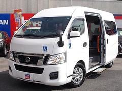 NV350キャラバンバンチェアキャブ 電動リフター・車椅子1席タイプ 10人乗り