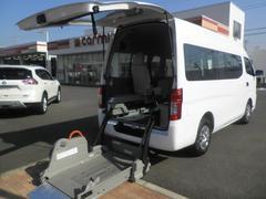 NV350キャラバンバンチェアキャブ 車椅子2名仕様