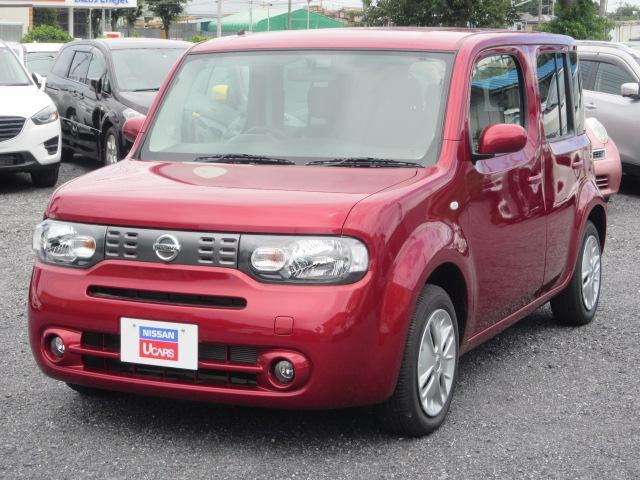 Nissan Cube 15x V Selection 2019 Red 12 Km Details