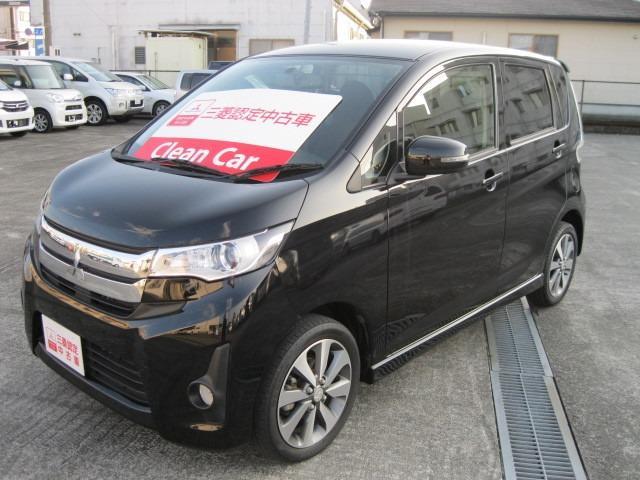 三菱 eKカスタム 660 T (車検整備付)