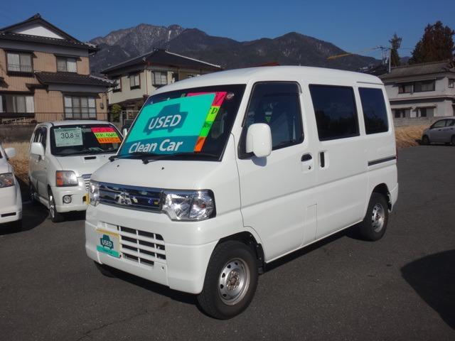 三菱 ミニキャブバン 660 CL ハイルーフ 4WD (車検整備付)