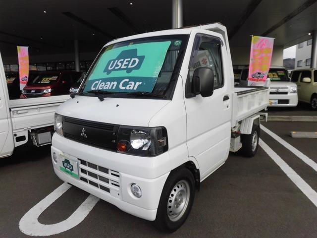 三菱 ミニキャブトラック 660 楽床ダンプ 4WD (検30.11)