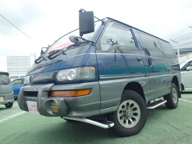 三菱 デリカスターワゴン 2.5 GLX エアロルーフ ディーゼル...